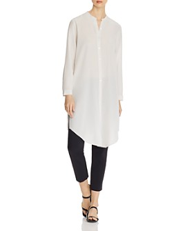 Eileen Fisher - Chiffon Tunic Shirt