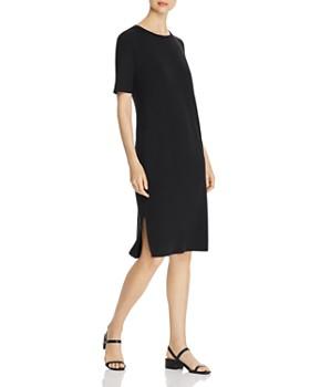 Eileen Fisher Petites - Stretch-Knit Sheath Dress