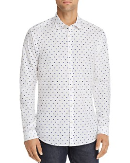 Scotch & Soda - Crispy Pennant-Print Slim Fit Shirt