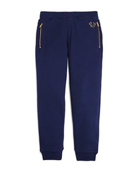 True Religion - Boys' Gold-Logo Sweatpants - Little Kid, Big Kid