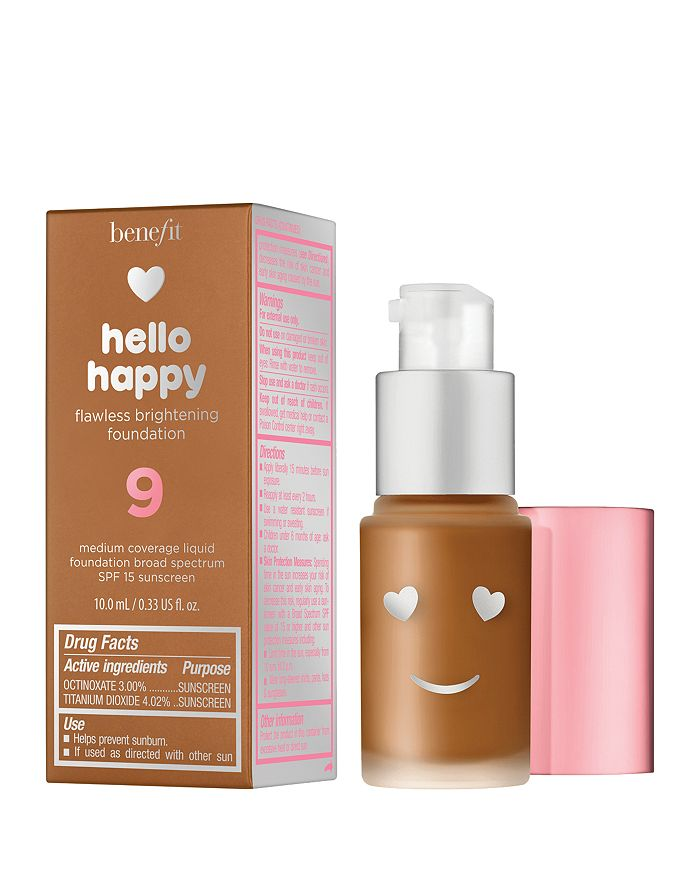 Benefit Cosmetics HELLO HAPPY FLAWLESS BRIGHTENING FOUNDATION MINI