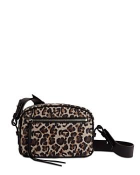 ALLSAINTS - Leopard-Print Convertible Belt Bag