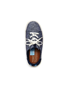 TOMS - Unisex Chambray Slip-On Sneakers - Baby, Walker, Toddler