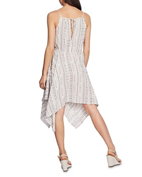 1.STATE - Rustic Handkerchief-Hem Dress
