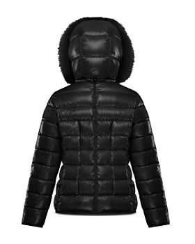8e2a9bc1 ... Moncler - Girls' New Armoise Fur-Trim Down Puffer Coat - Big Kid