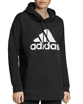 Adidas - Badge Of Sport Fleece Hooded Sweatshirt