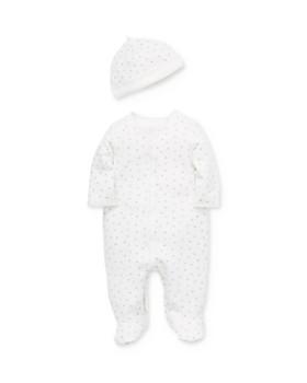 Little Me - Unisex Spots Footie & Hat Set - Baby