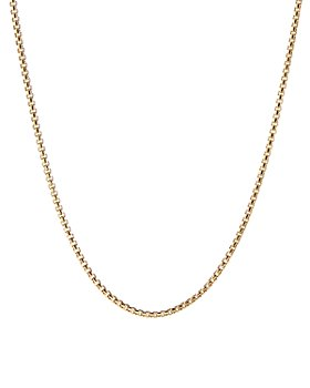 David Yurman - 18K Yellow Gold Chain Necklace