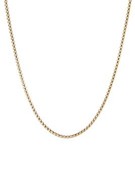 "David Yurman - 18K Yellow Gold Chain Necklace, 24"""
