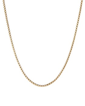 David Yurman - 18K Yellow Gold Chain Necklace, 24""