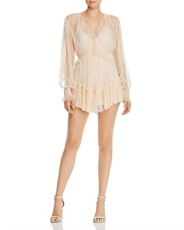 Alice McCall - Harvest Moon Lace Romper