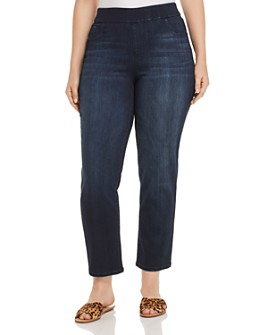 Liverpool Los Angeles Plus - Meredith Slim Ankle Jeans in Westport