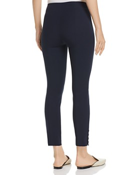 Theory - Ankle-Snap Cropped Leggings