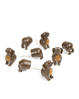 Charcoal Companion - Corn Holders - Dogs, 4 pairs