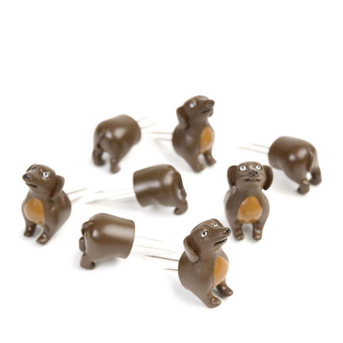 Charcoal Companion - Corn Holders - Dogs, 4 pairs