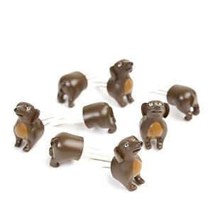 Charcoal Companion Corn Holders - Dogs, 4 pairs