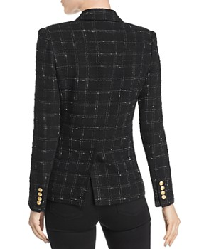 Generation Love - Alexa Tweed Windowpane Blazer