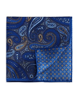 The Men's Store at Bloomingdale's - Paisley/Floret Neat Pocket Square