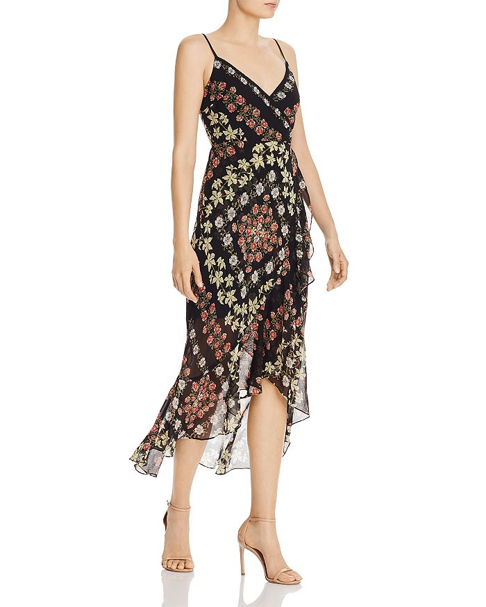 GUESS - Makaila Floral-Print High/Low Dress