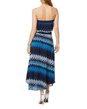 Ramy Brook - Sylvia Strapless Printed Maxi Dress
