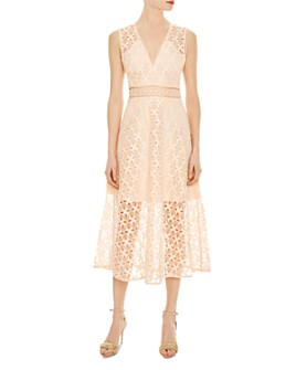 Sandro - Bilali Guipure Lace Dress