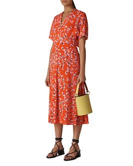 Whistles - Zelena Digital-Daisy-Print Dress