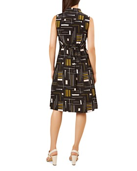 HOBBS LONDON - Cassandra Printed Shirt Dress