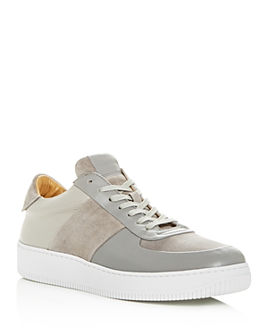 Collegium Men's Pillar Court I Leather & Suede Low-Top Sneakers - 100% Exclusive