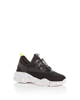 STEVE MADDEN - Girls' JMyless Knit Low-Top Sneakers - Little Kid, Big Kid