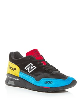New Balance - Men's Made in England 1500 Suede Low-Top Sneakers