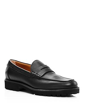 Boss Loafers MEN'S EDENLUG PENNY LOAFERS