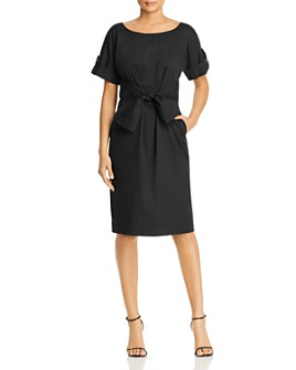Donna Karan - Tie-Waist Shirt Dress