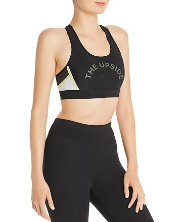 THE UPSIDE - Anna Cutout Racerback Sports Bra - 100% Exclusive