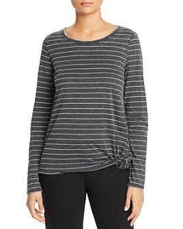 Marc New York - Knotted Long-Sleeve Tee