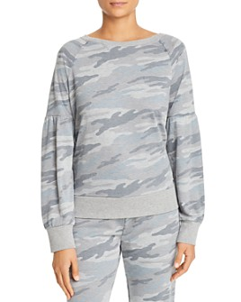 Marc New York - Puffed-Sleeve French Terry Sweatshirt