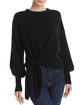 Cinq à Sept - Clerisa Tie-Detail Cashmere Sweater