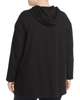 Eileen Fisher Plus - Hooded Tunic Top