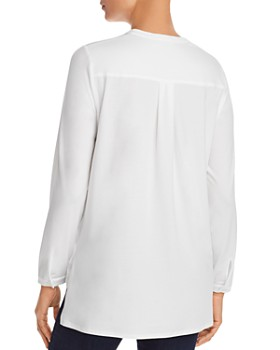 Eileen Fisher - Banded-Collar Tunic Top