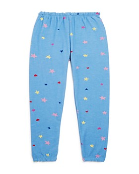 CHASER - Girls' Hearts & Stars Pants - Little Kid, Big Kid