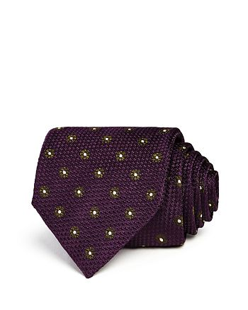 Canali - Framed Floral Classic Tie