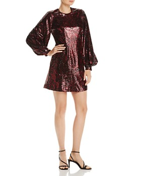 Black Halo - Vida Sequin Mini Cocktail Dress