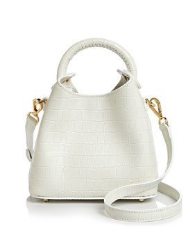 Elleme - Madeline Croc-Embossed Mini Crossbody