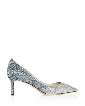 34ad55056be Silver Heels - Bloomingdale's