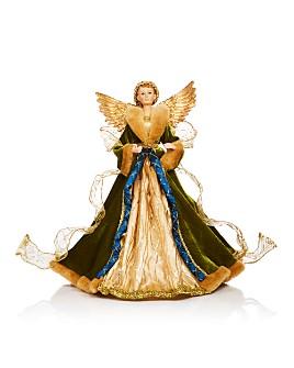 Bloomingdale's - Gilded Angel Tree Topper - 100% Exclusive