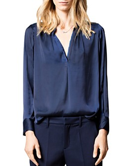 Zadig & Voltaire - Tink Satin Tunic