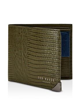 Ted Baker - Thinliz RFID Block Embossed Bifold Wallet