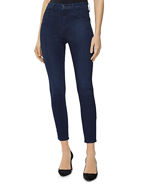 J Brand Alana High-Rise Crop Skinny Jeans in Chroma