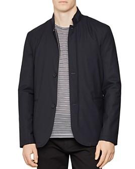 REISS - Faulkner Lightweight Funnel Collar Jacket