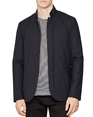 Reiss Faulkner Lightweight Funnel Collar Jacket