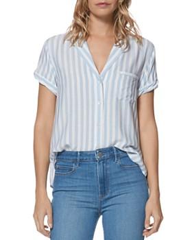 PAIGE - Colwyn Striped Shirt